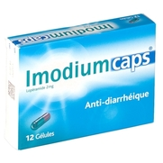 Imodiumcaps 2 mg, 12 gélules