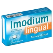 Imodiumlingual 2 mg, 12 comprimés sublinguaux