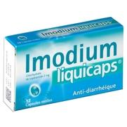 Imodiumliquicaps 2 mg, 12 capsules molles
