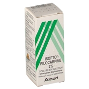 Isopto pilocarpine 2 %, flacon de 10 ml de collyre