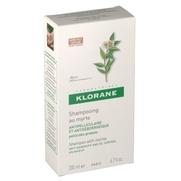 Klorane pellicules grasses shampooing traitant aux extraits de myrte 200 ml