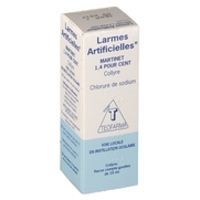 Larmes artificielles martinet 1,4 %, flacon de 10 ml de collyre