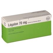 Legalon 70 mg, 40 comprimés enrobés