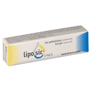 Liposic 2 mg/g, 10 g de gel ophtalmique