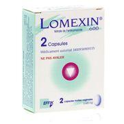 Lomexin 600 mg, 2 capsules molles vaginales