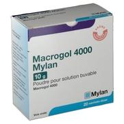 Macrogol 4000 mylan 10 g, 20 sachets