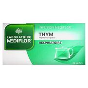 Mediflor Respiratoire Infusion Thym, 24 Sachets