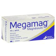 Megamag 45 mg, 120 gélules