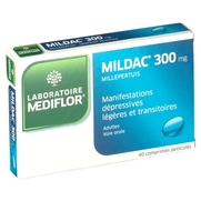 Mildac 300 mg, 40 comprimés pelliculés