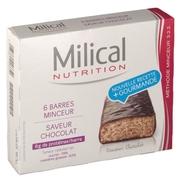 Milical hyperprotéinée barres hyperprotéinées chocolat 162g
