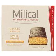 Milical hyperprotéinée barres hyperprotéinées orange 162g