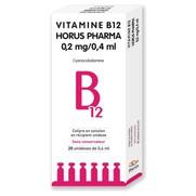 Mono vitamine b12 0,05 %, 30 flacons unidoses de 0,4 ml de collyre
