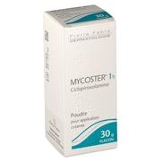 Mycoster 1 %, 30 g de vernis