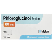 Mylan Phloroglucinol 80 mg, 10 Comprimés Orodispersibles