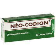 Neo-codion, 20 comprimés enrobés