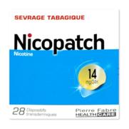 Nicopatch 14 mg/24 h, 28 dispositifs transdermiques