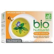 Nutrisante infusion bio foie vesicule sachet 20