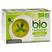Nutrisante infusion bio verveine sachet 20