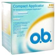 Ob pro comfort tampon periodique applic normal, x 16