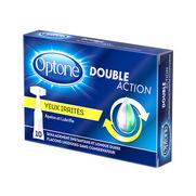 Optone Double Action Monodose Yeux Irrités, 10 Unidoses