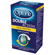 Optone Double Action Yeux Irrités, 10 ml