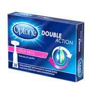 Optone Double Action Yeux Secs, 10 Unidoses