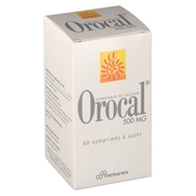 Orocal 500 mg, 60 comprimés