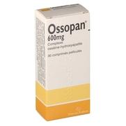 Ossopan 600 mg, 30 comprimés pelliculés