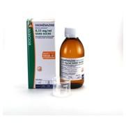 Oxomemazine biogaran 0,33 mg/ml sans sucre, flacon de 150 ml de solution buvable