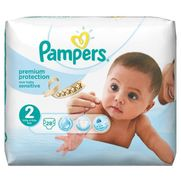 Pampers new baby sensitive  - taille 2 (3-6kg) - 28 couches