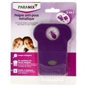 Paranix peigne metallique 3 en 1