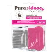 Parasidose peigne fin anti-poux plastique dents longues