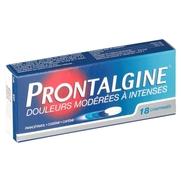 Prontalgine, 18 comprimés