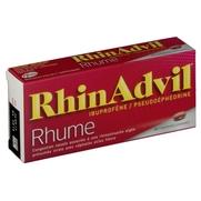 Rhinadvil rhume ibuprofene/pseudoephedrine, 20 comprimés enrobés