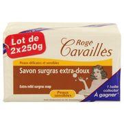 Roge cavailles savon surgras extra doux, 2 x 250 g