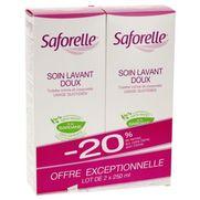 Saforelle soin lavant doux intime, 2 x 250 ml