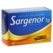 Sargenor 1g/5ml solution buvable, 40 ampoules