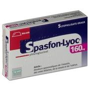 Spasfon lyoc 160 mg, 5 comprimés orodispersibles