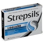 Strepsils lidocaine, 24 pastilles à sucer