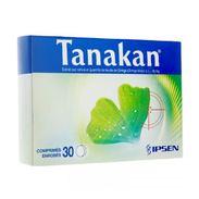 Tanakan 40 mg, 30 comprimés enrobés