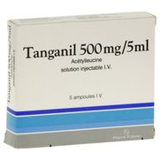 Tanganil 500 mg/5 ml, 5 ampoules de solution injectable iv