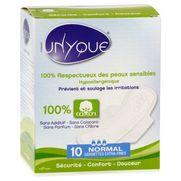 Unyque serviettes hygièniques extra-fines, 10 pièces