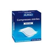 Urgo compresses non tissées stériles 7,5 cm x 7,5 cm