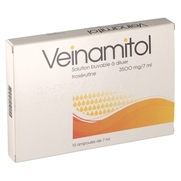 Veinamitol 3500 mg/7ml solution buvable, 10 ampoules