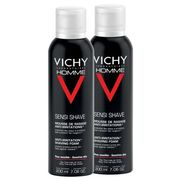 Vichy homme mousse a raser antiirritation, 2 x 200 ml