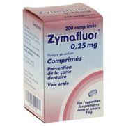 Zymafluor 0,25 mg, 200 comprimés
